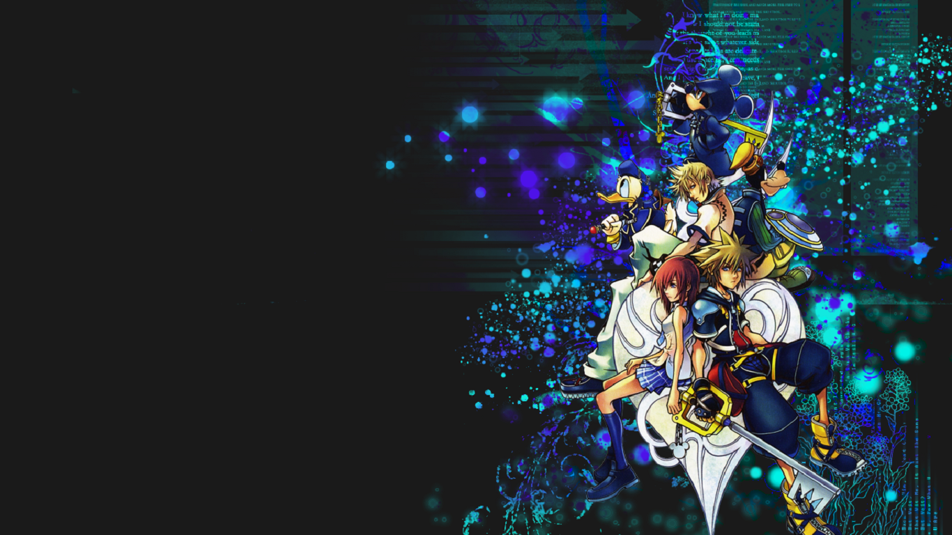 kingdom hearts wallpaper 15 Best Collection 1366x768