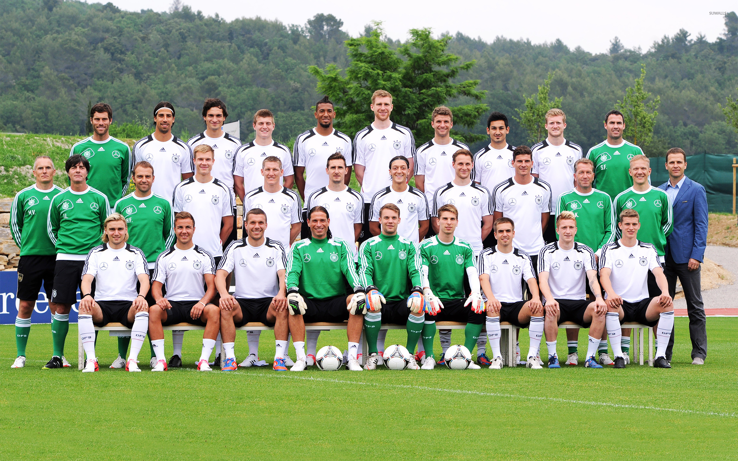 Germany national football team 2012 wallpaper 2560x1600 2560x1600
