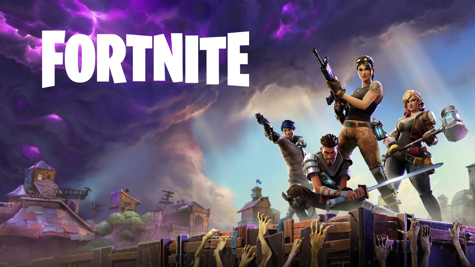 Fortnite [Video Game] Wallpaper HD 1920x1080