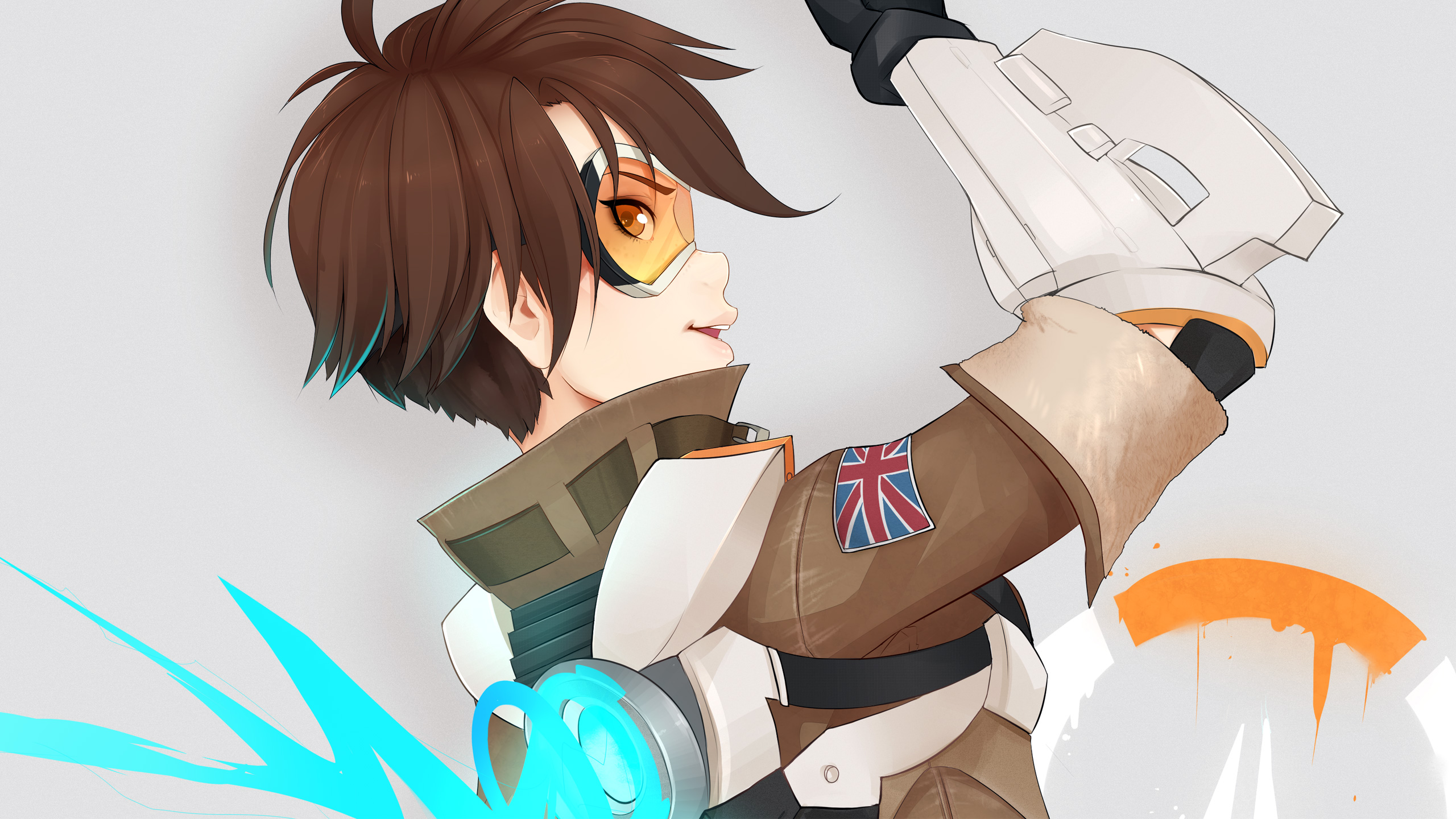 Overwatch Tracer HD Wallpapers HD Wallpapers 2560x1440
