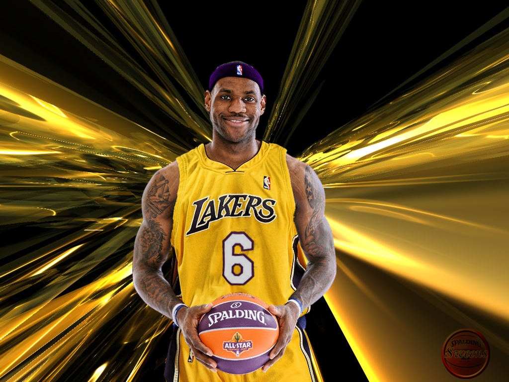 97+] Lebron James Lakers Wallpapers on