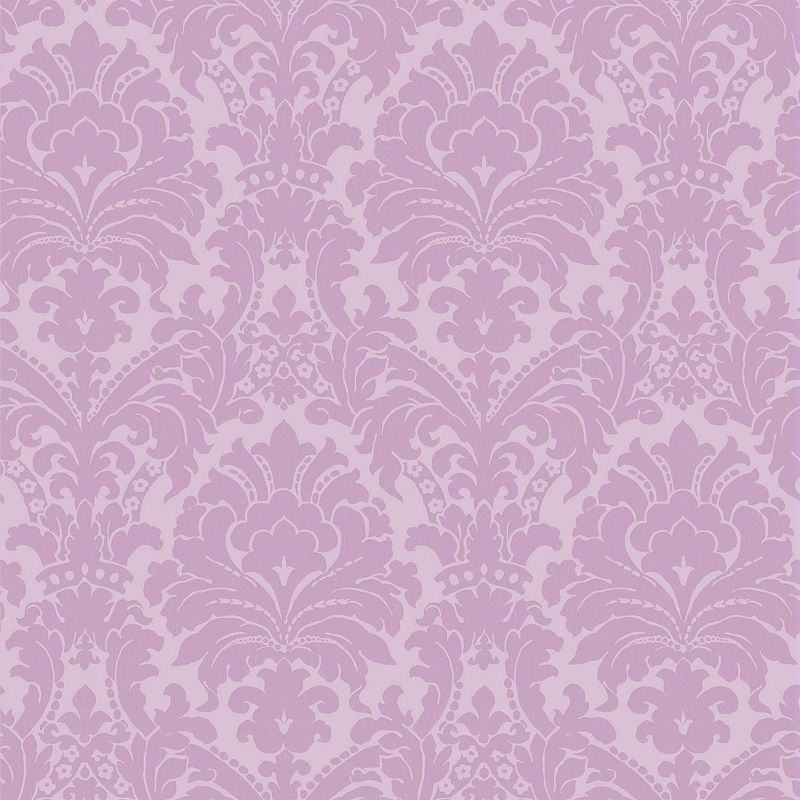 BREWSTER HOME FASHIONS BROCADE DAMASK WALLPAPER PURPLE 800x800