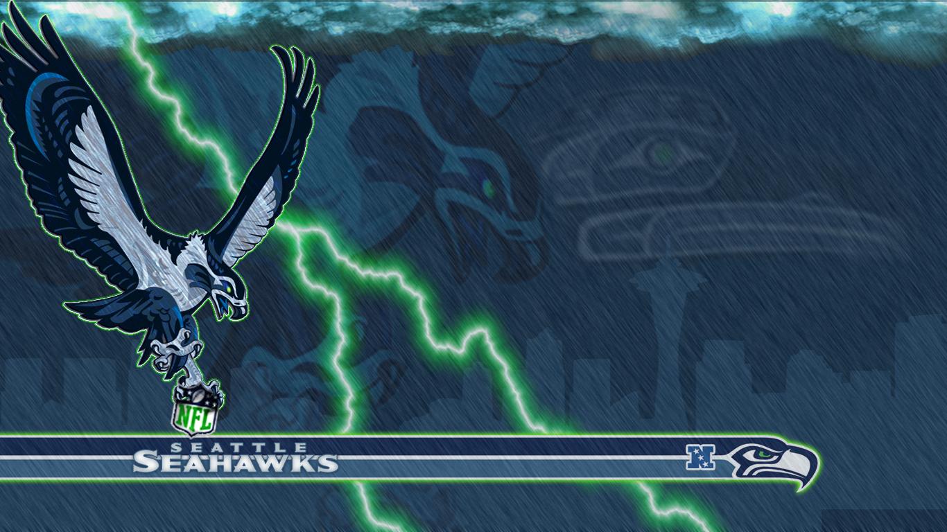 Seahawks 2012 by PyroDark 1366x768
