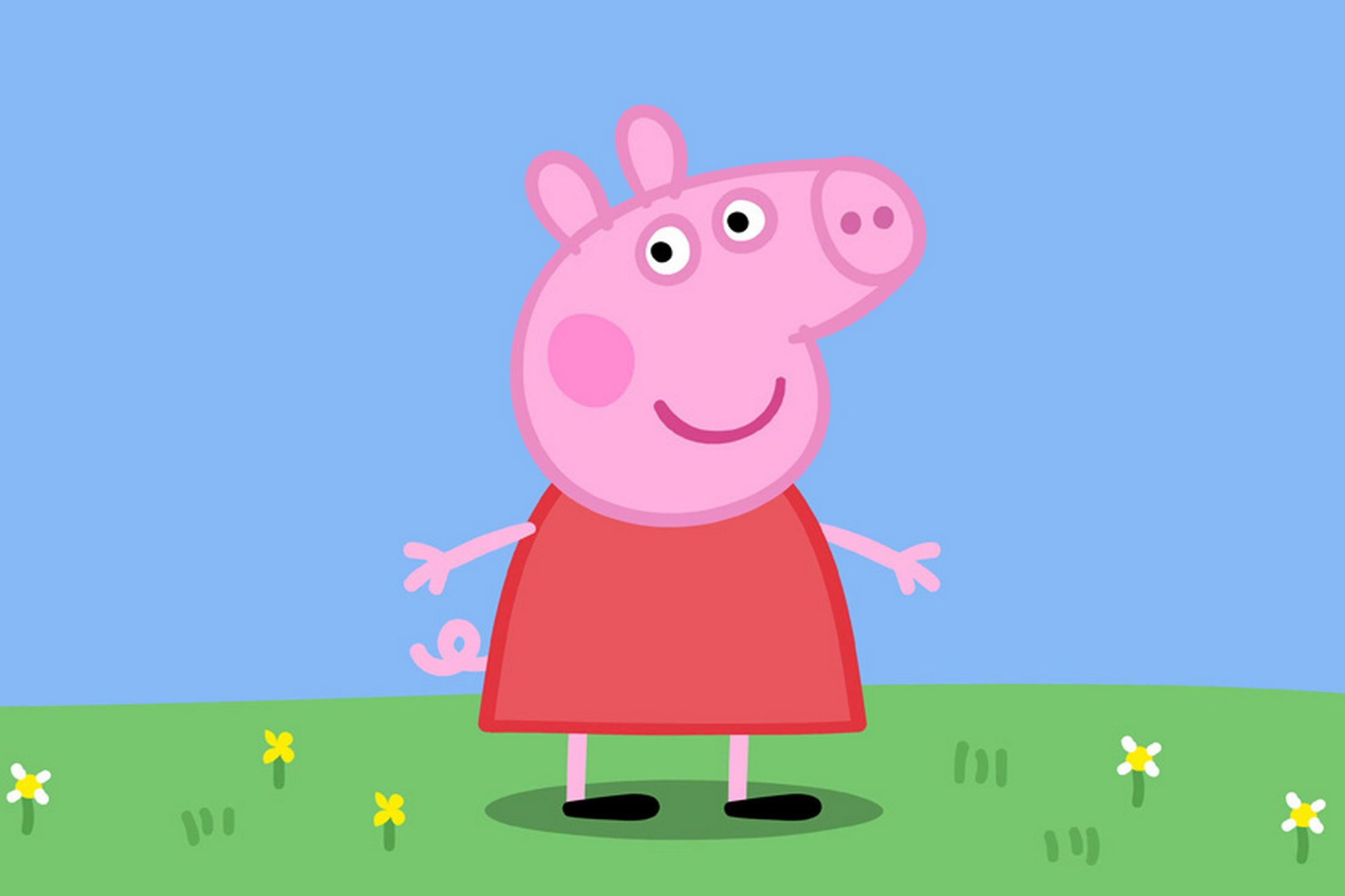 our wallpaper of the month Peppa Pig cake Peppa Pig wallpapers 2197x1463