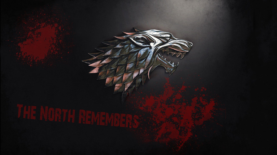 The North Remembers Game of Thrones Wallpaper 900x506