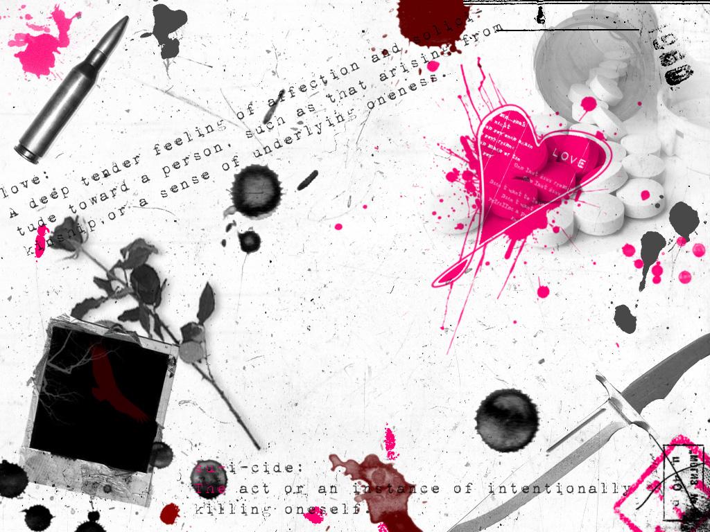 Emo Backgrounds Emo Wallpapers Emo Desktop Emo Fevercom 1024x768