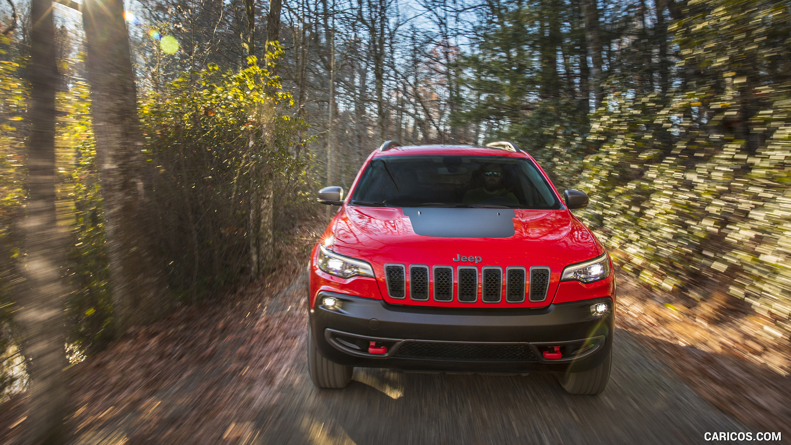 2019 Jeep Cherokee Trailhawk   Front HD Wallpaper 18 2560x1440