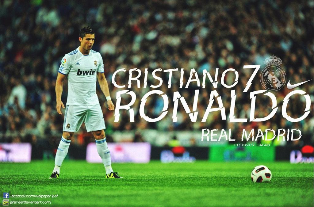 Cristiano Ronaldo Wallpaper by jafarjeef on DeviantArt
