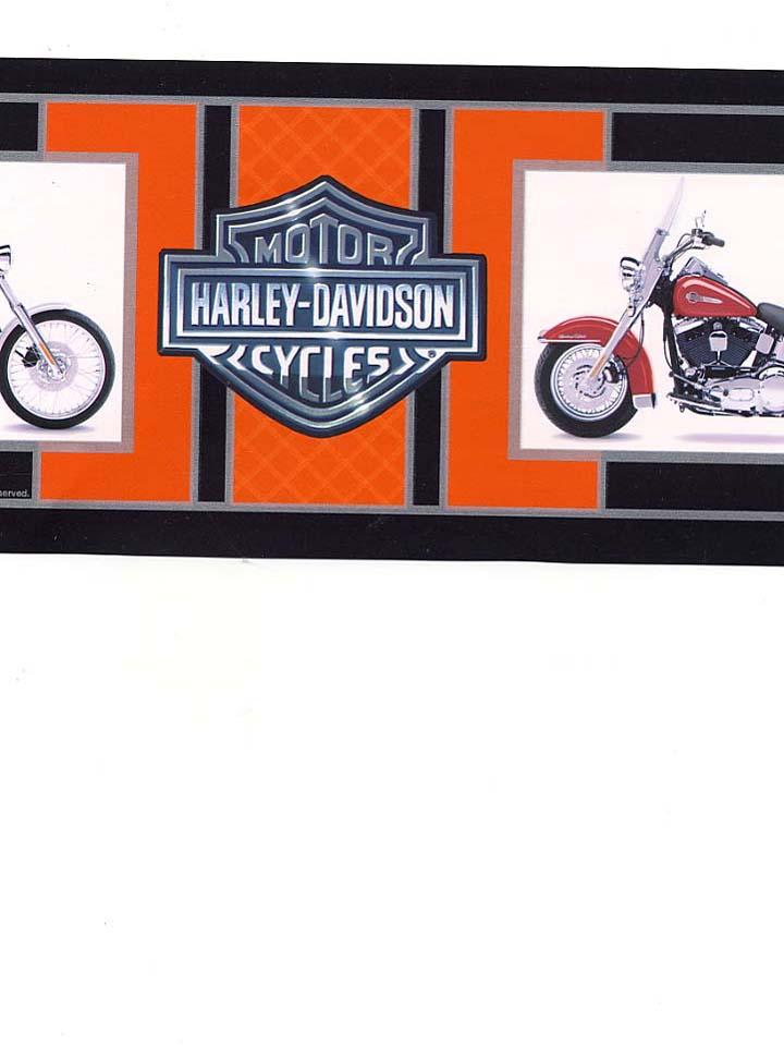 HARLEY DAVIDSON WALLPAPER BORDER   21B7   134B39966 720x960