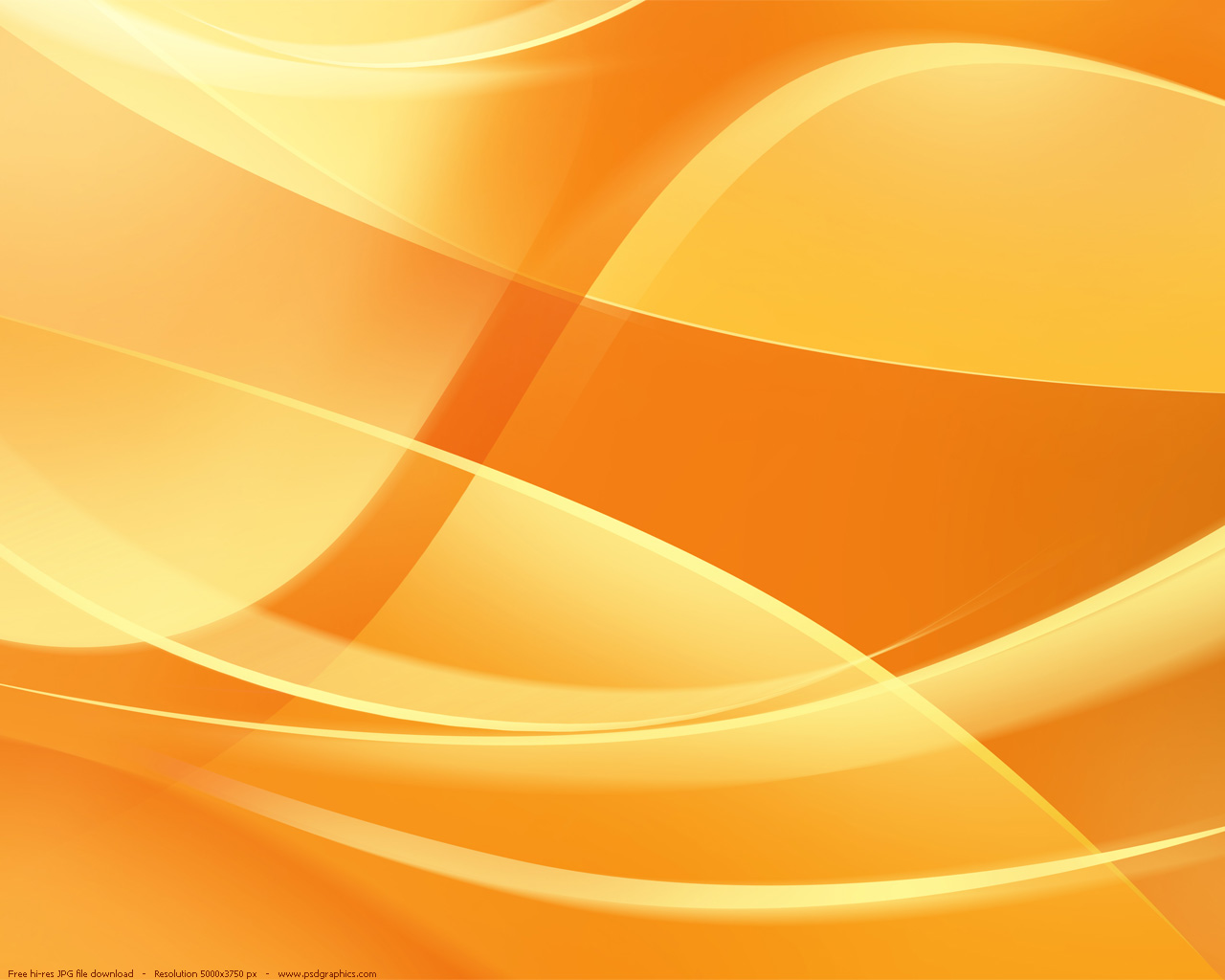 Abstract orange backgrounds PSDGraphics 1280x1024
