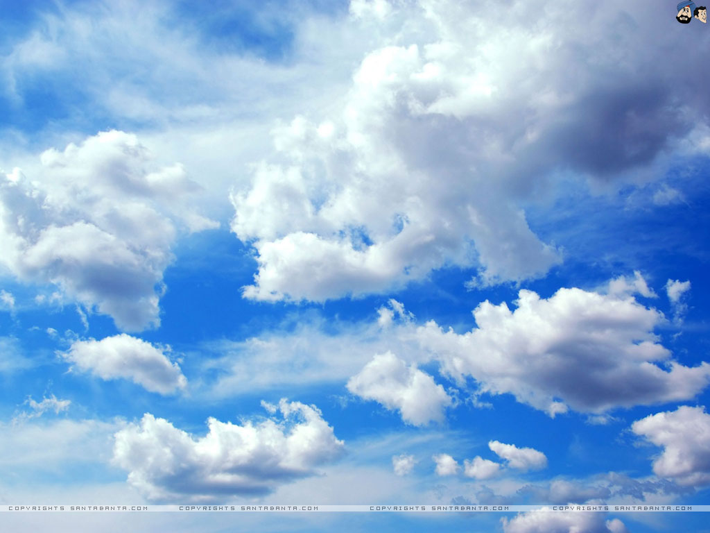Clouds Wallpaper 11 1024x768