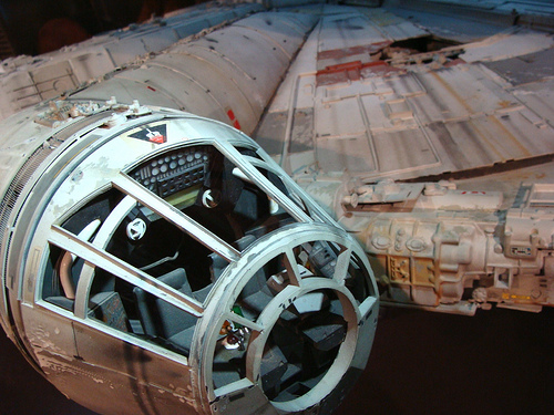 Millennium Falcon Cockpit | Flickr - Photo Sharing!