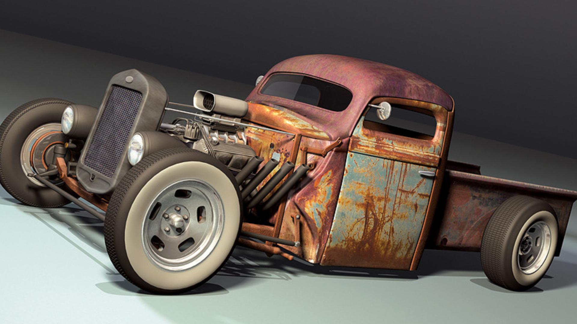 Vehicles   Rat Rod Wallpaper 1920x1080