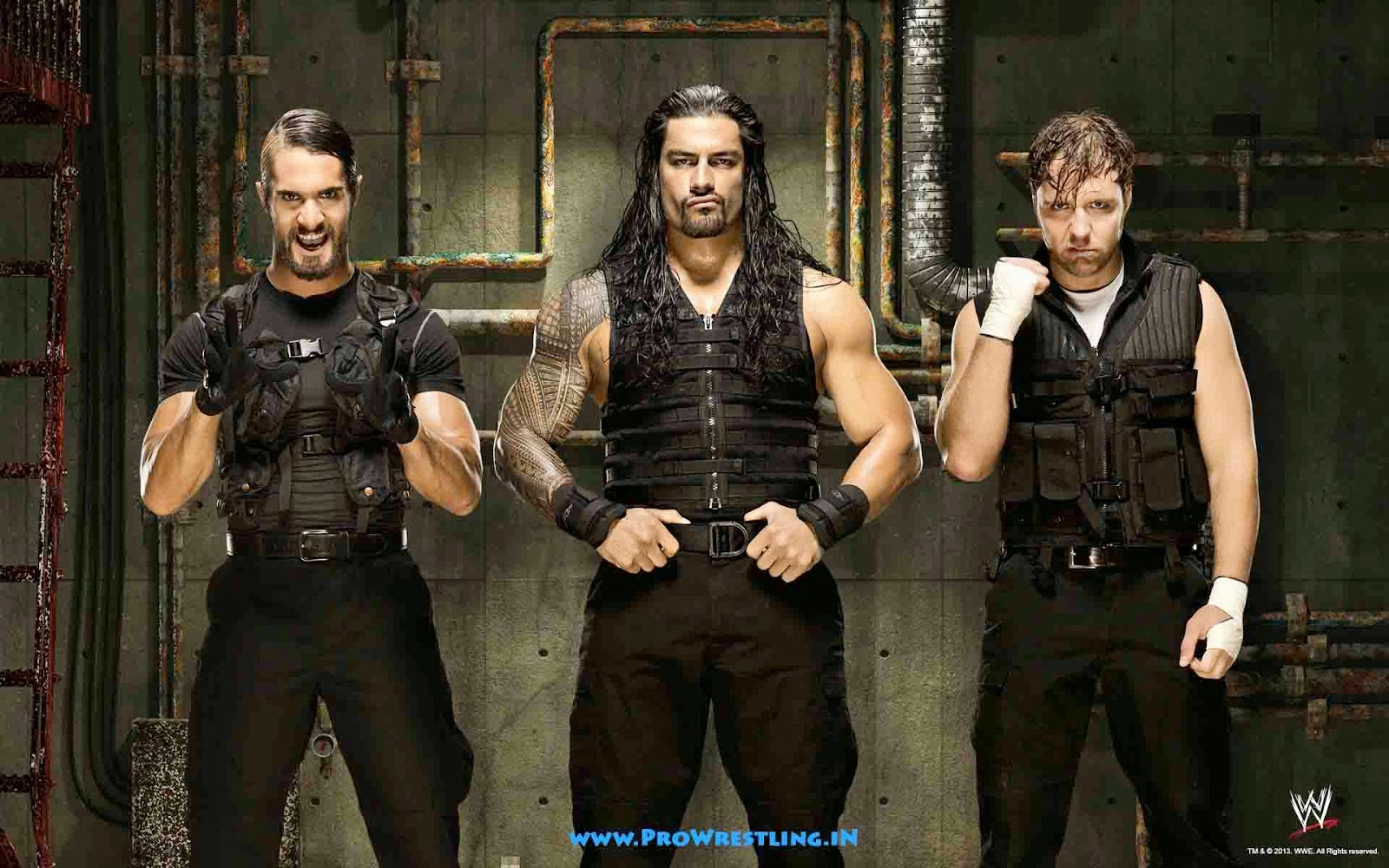 50+] WWE The Shield Wallpaper on WallpaperSafari