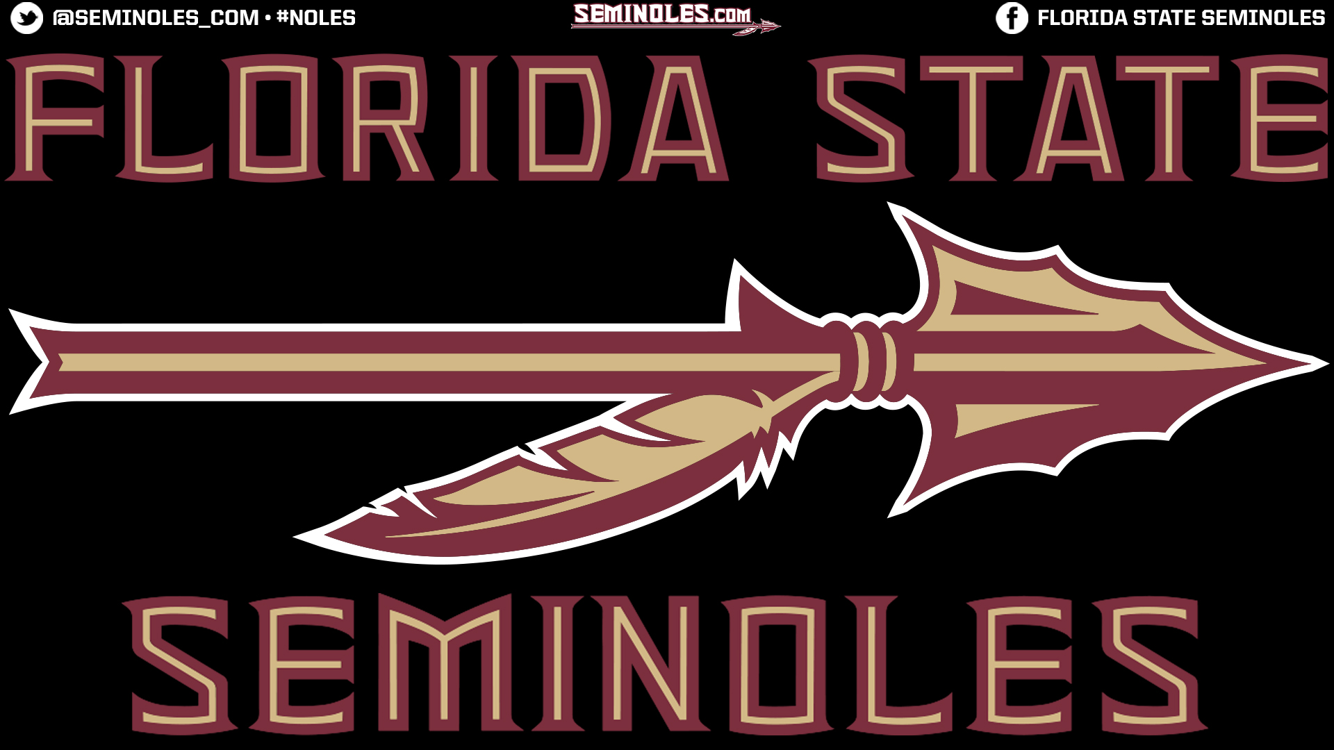SEMINOLESCOM DESKTOP WALLPAPERS   Florida State Seminoles Official 1920x1080