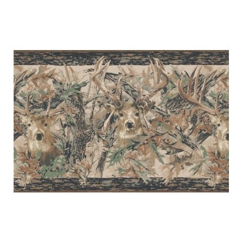 Camo Deer Wallpaper Border Home Improvement 500x500