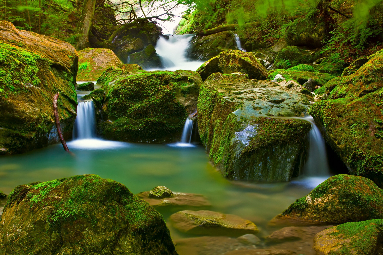 Waterfalls Wallpaper Download 3000x2000