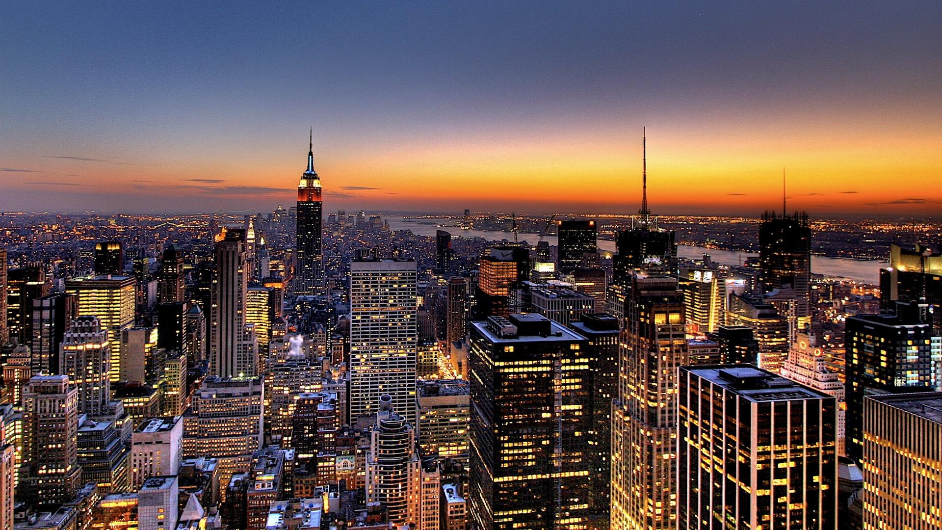 New York Buffalo Skyline X Wallpaper Car Pictures 1920x1080
