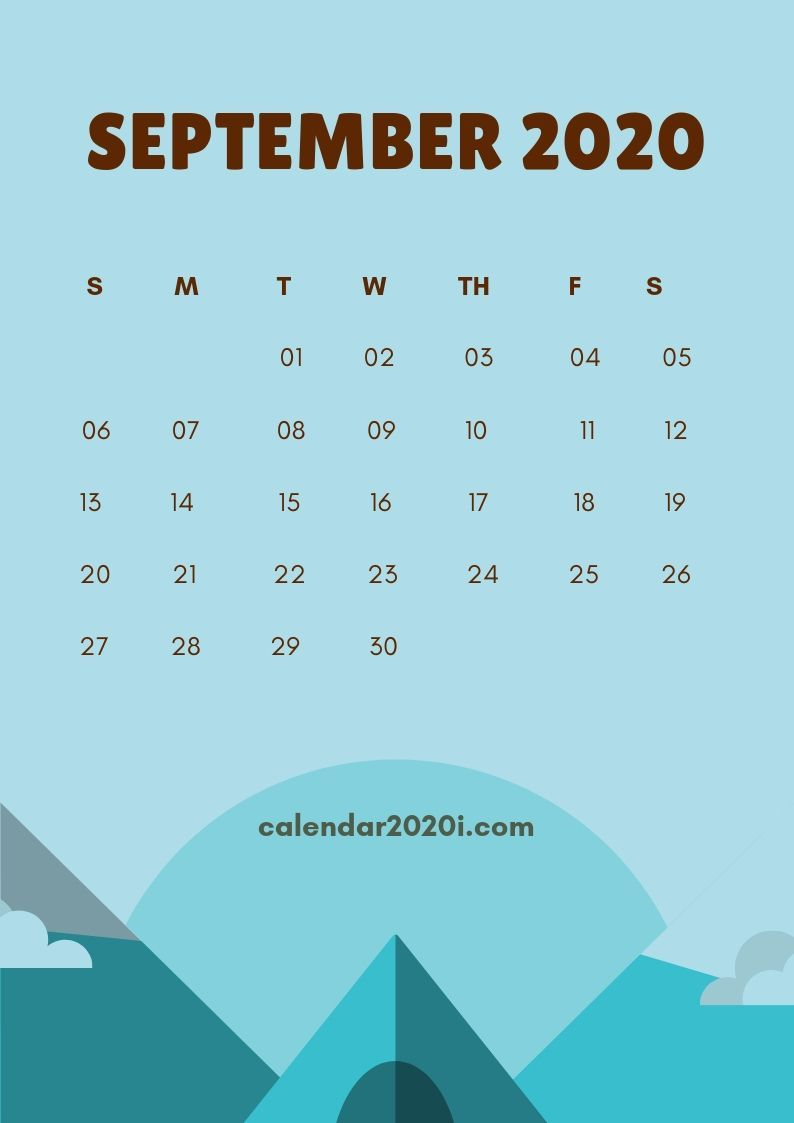 September 2020 Calendar Wallpapers   Top September 2020 794x1123
