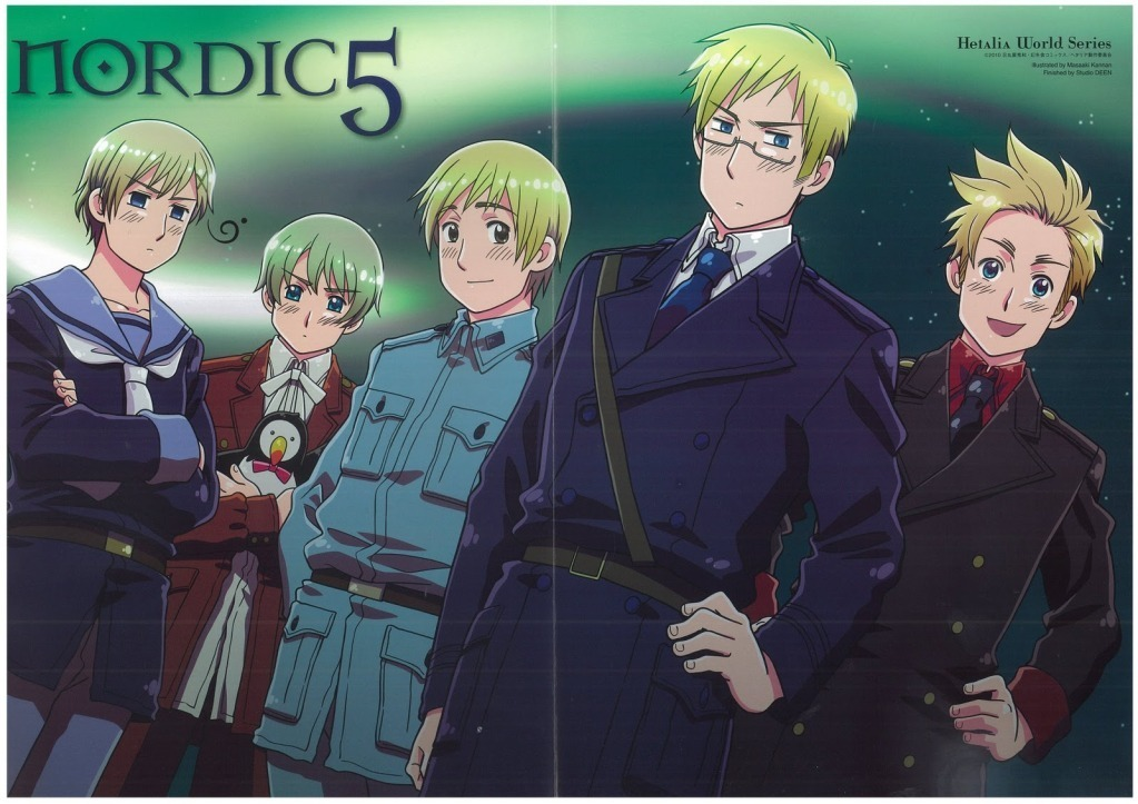 Hetalia Nordic Countries 1023x723