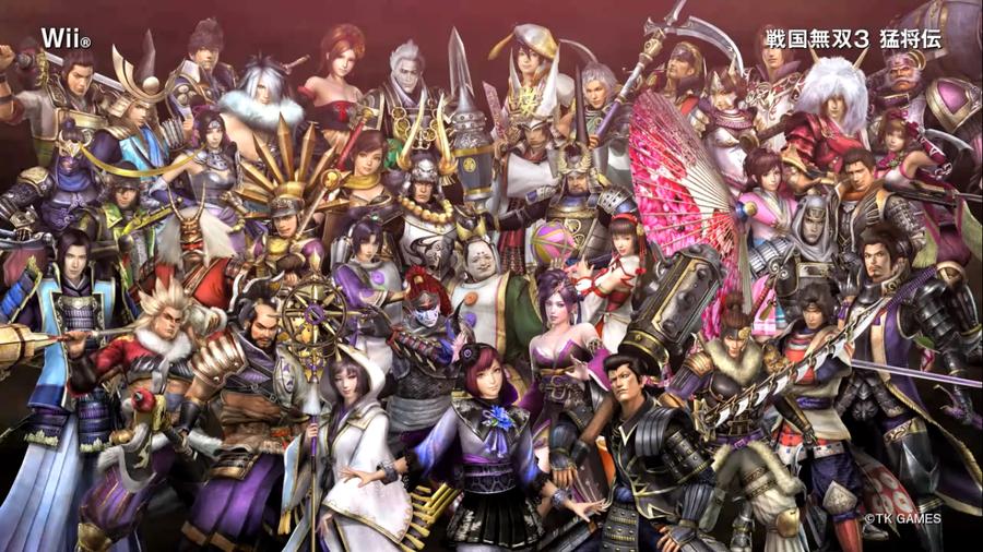 Samurai Warriors 3   Wallpaper by DynastyWarriors7 900x506