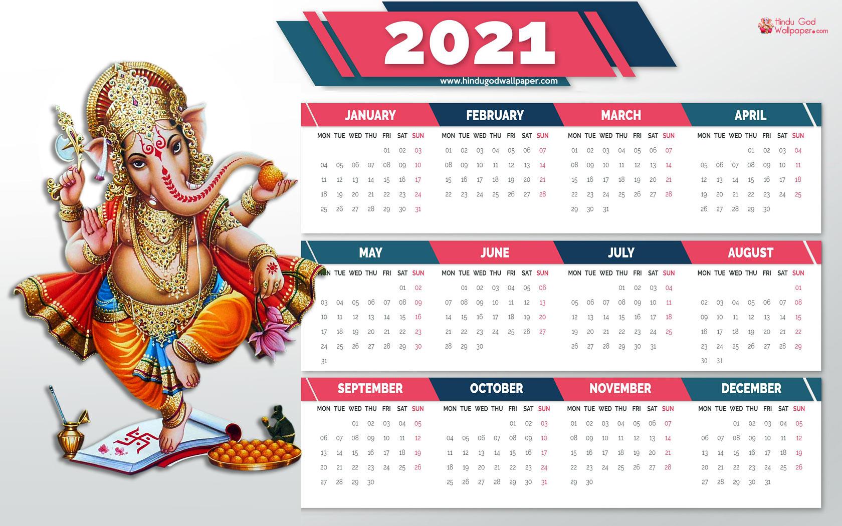 Calendar Wallpapers 2021 Desktop and Mobile Background 1680x1050