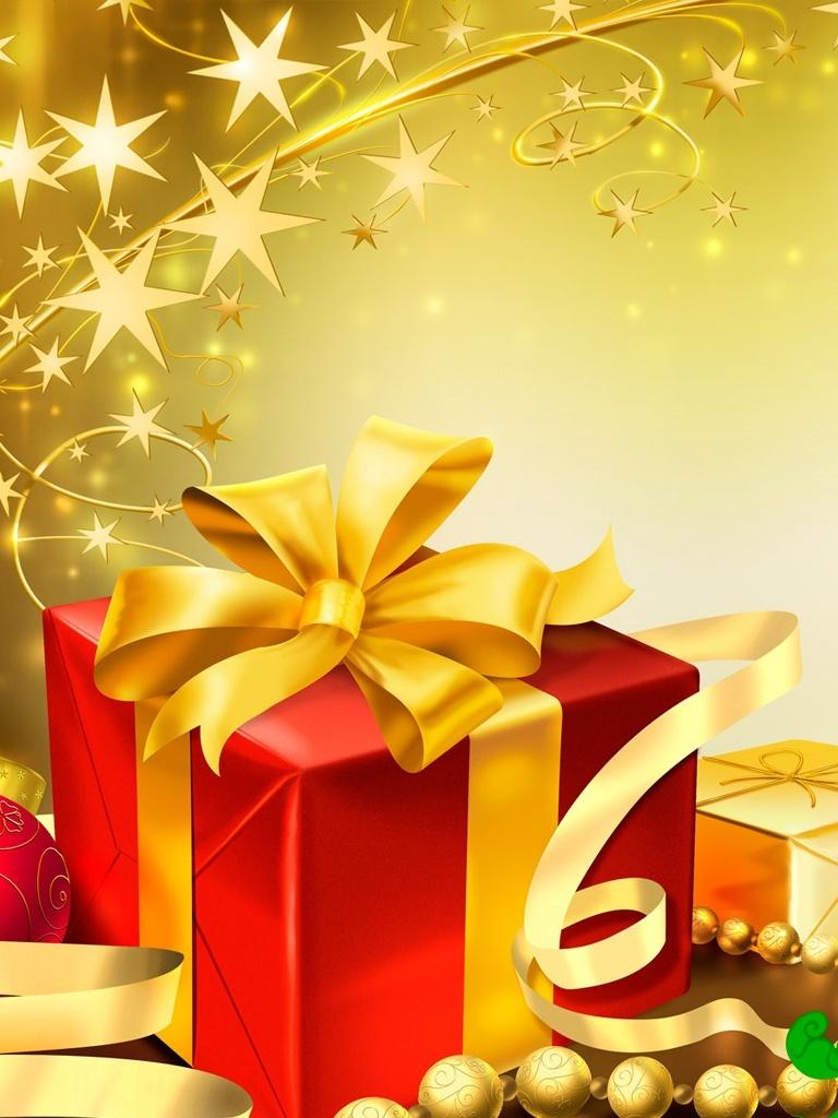 Christmas Presents Gifts Ideas   iPad iPhone HD Wallpaper 768x1024