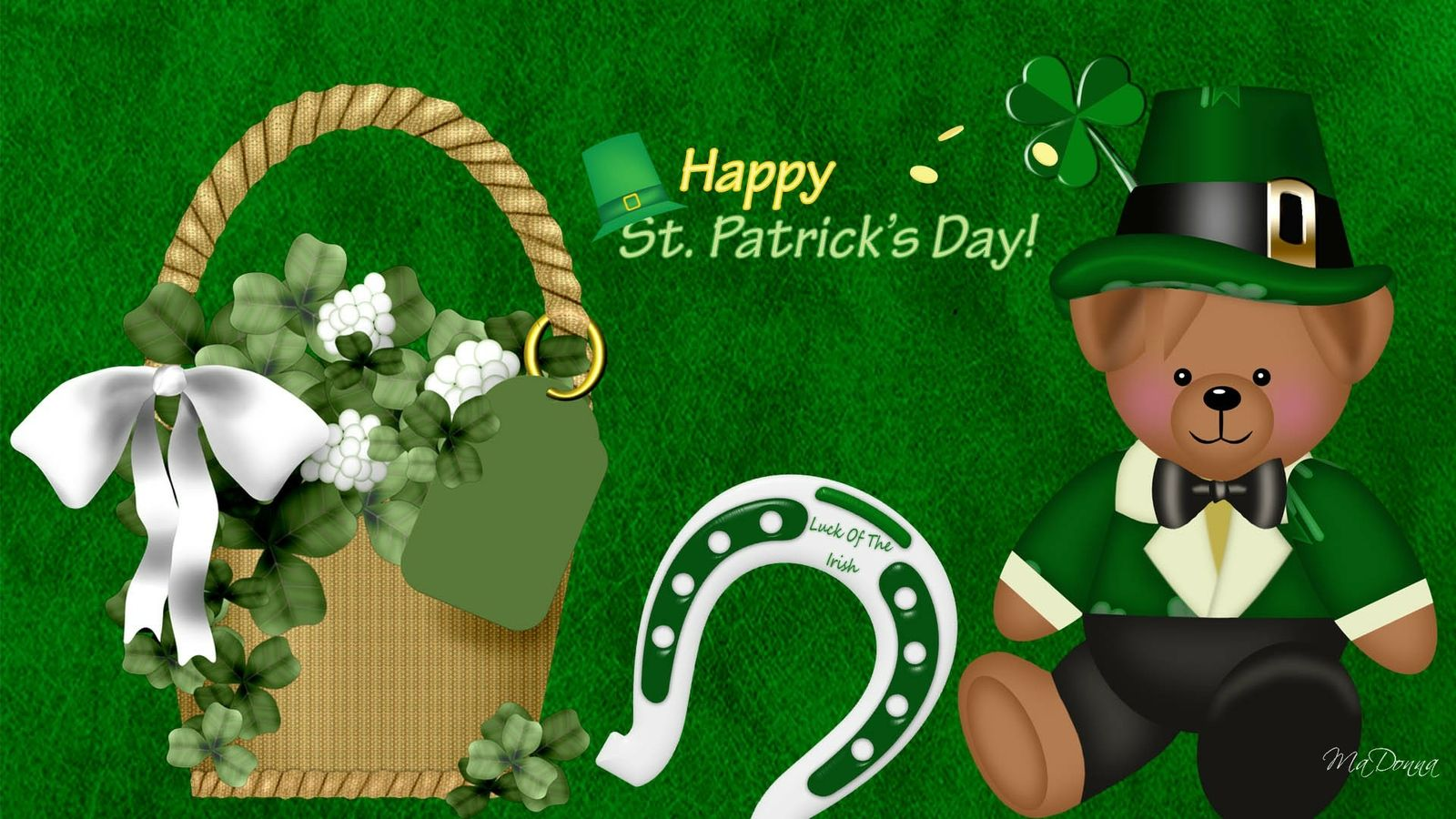 St Patricks Day Backgrounds Download Saint Patricks Day 1600x900