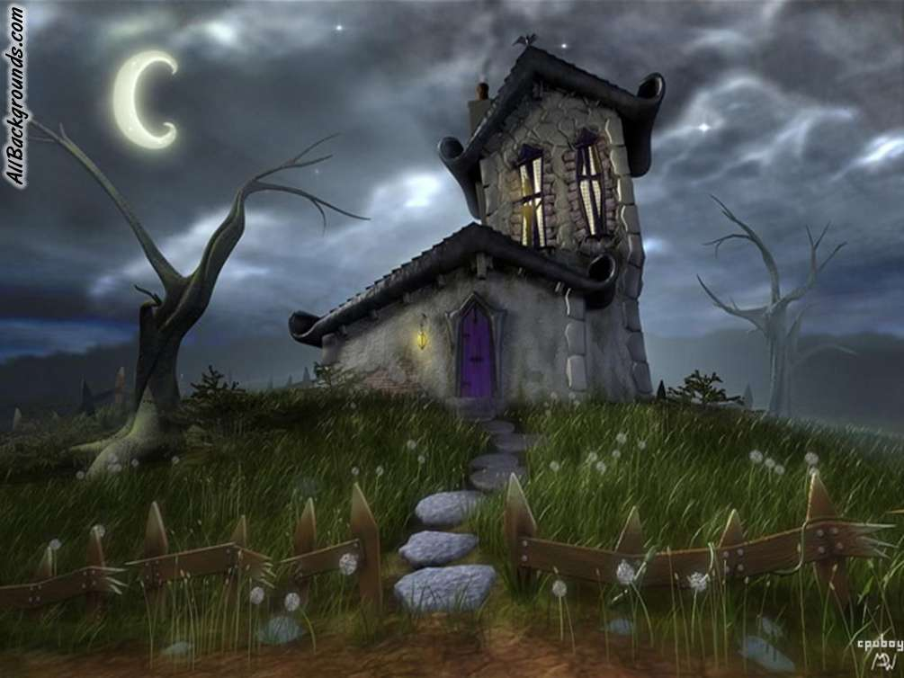 If you need Haunted House background for TWITTER 1005x754