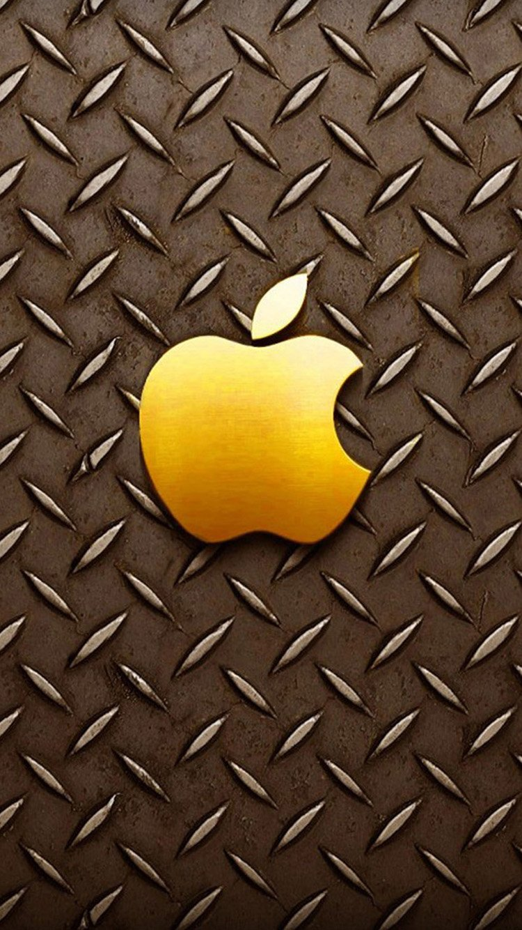 Gold apple logo iPhone 6 Wallpapers | HD Wallpapers For iPhone 6 HTML ...