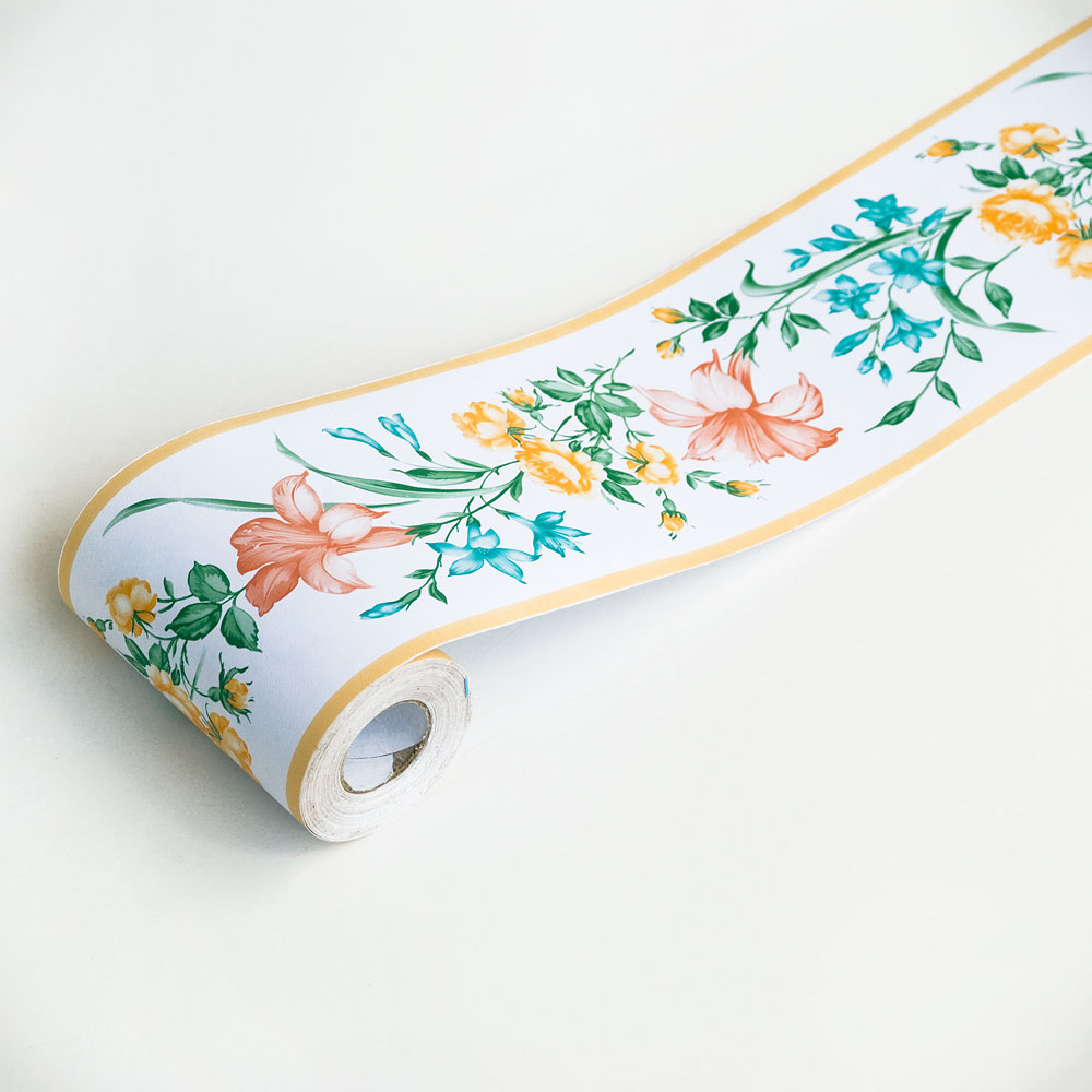 Gerbera   Self Adhesive Wallpaper Borders Home Decor Roll 1000x1000