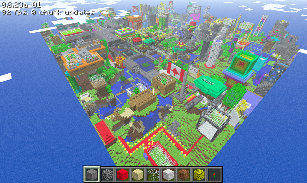 The question how to Make Your Own Minecraft Wallpaper has been asked 1024x611