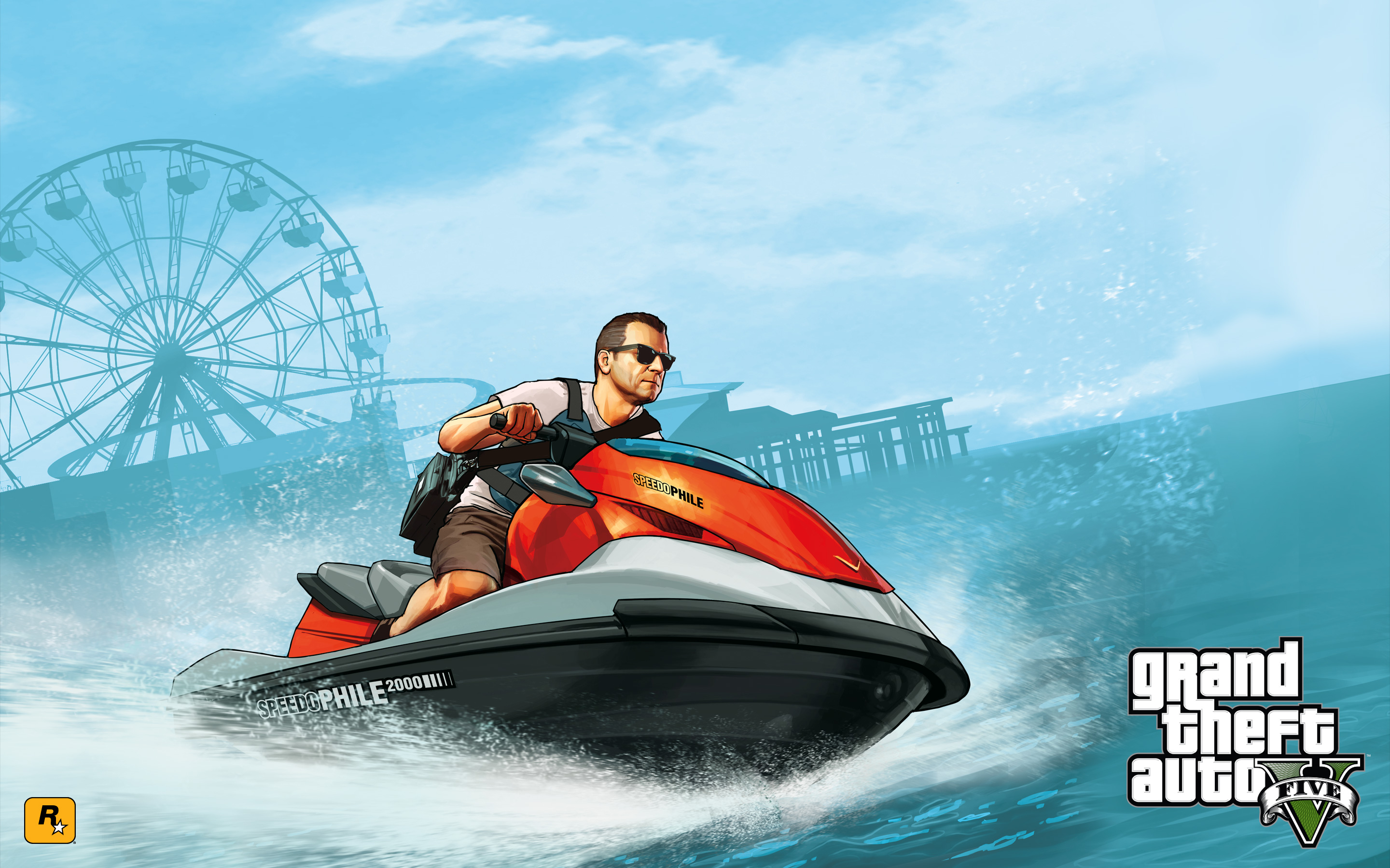 Grand Theft Auto V HD Wallpapers Backgrounds Wallpaper