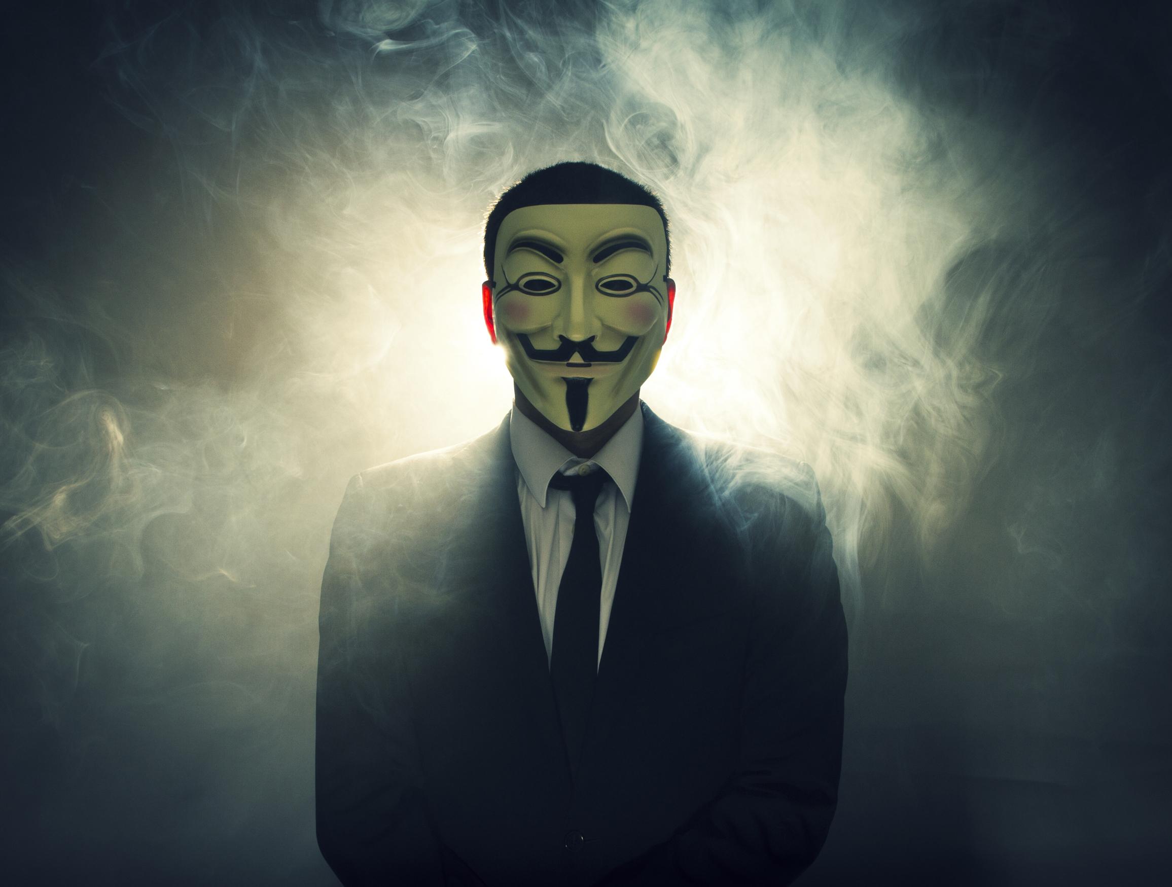 Guy Fawkes Mask Wallpa...