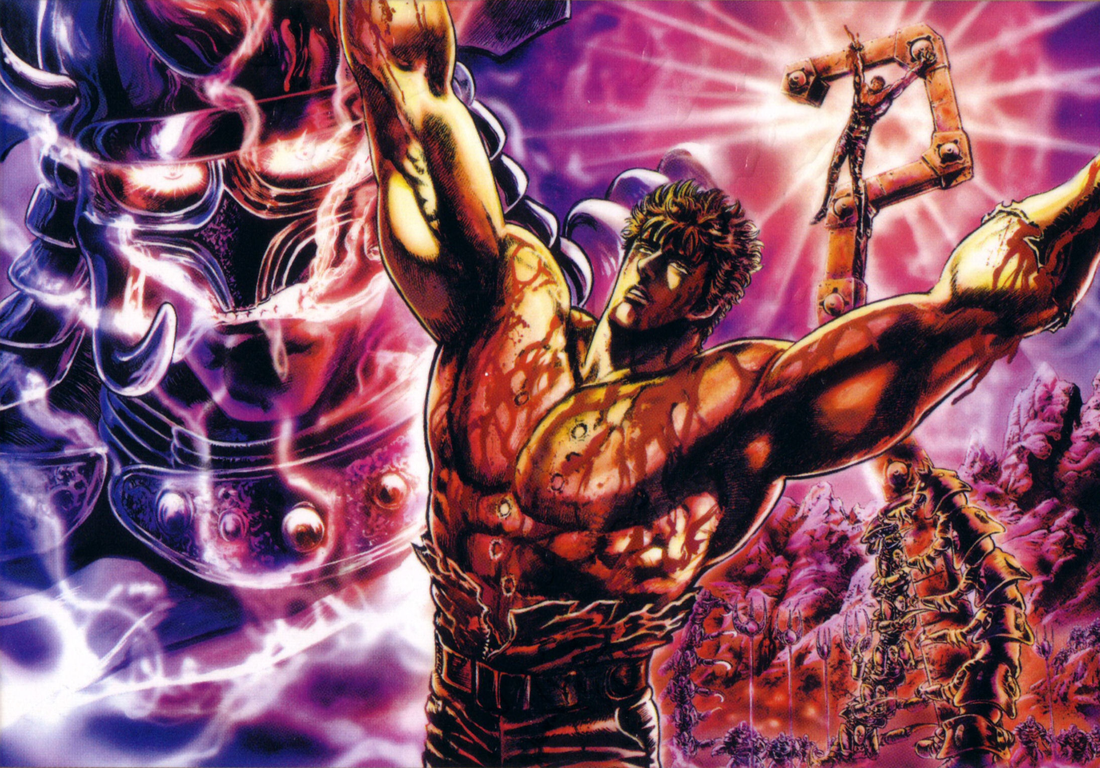 Fist Of The North Star Full HD Wallpaper and Background 2190x1529