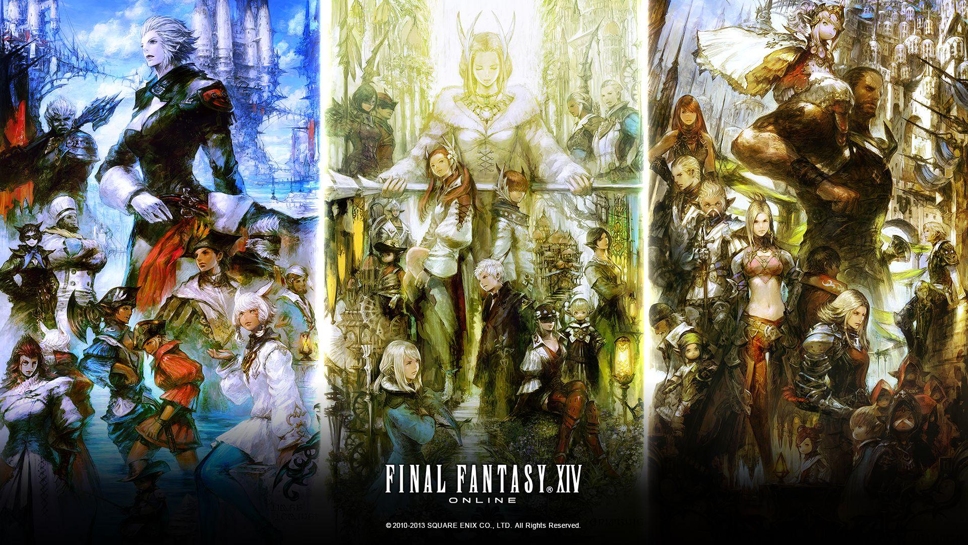 Final Fantasy XIV A Realm Reborn wallpaper 3 1920x1080