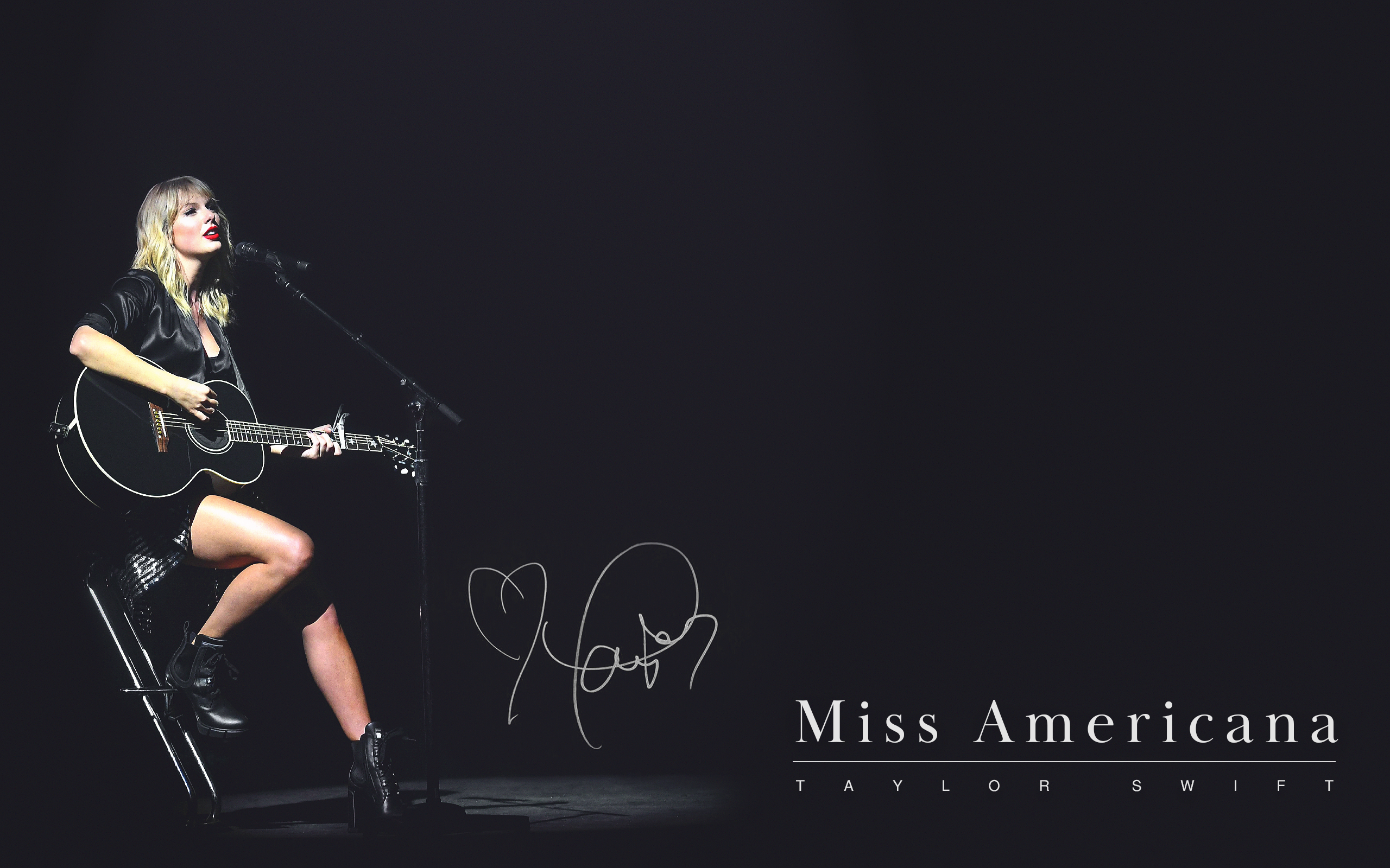 Miss Americana   desktopmobile wallpapers TaylorSwift 2560x1600