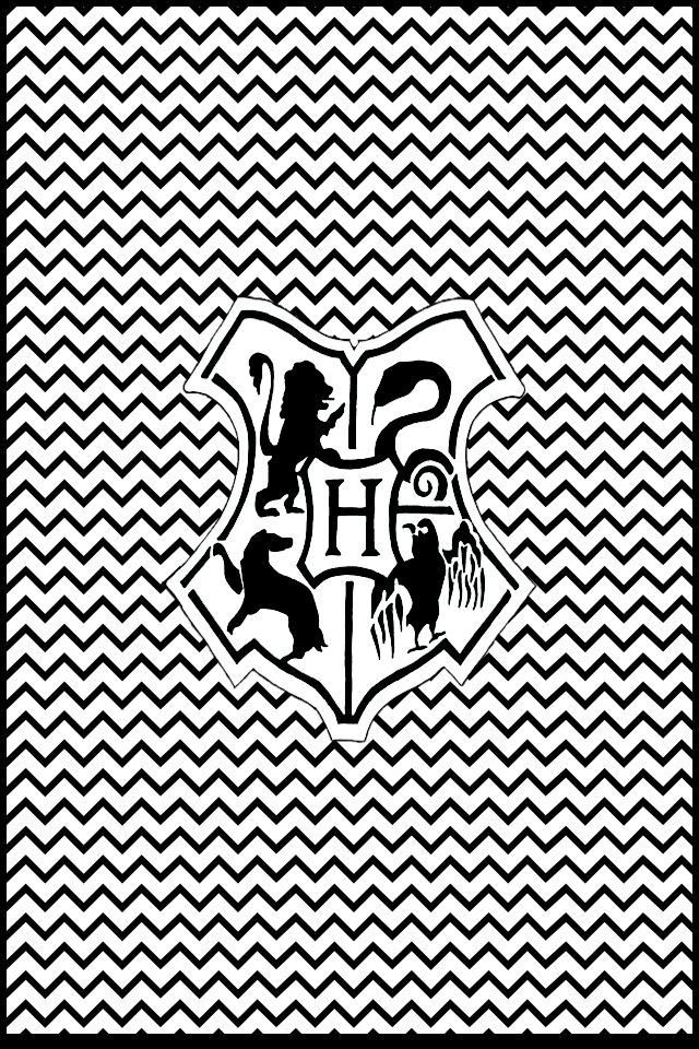 Hogwarts Inverted Chevron iPhone 4 and iPhone 4s wallpaper Made with 640x960