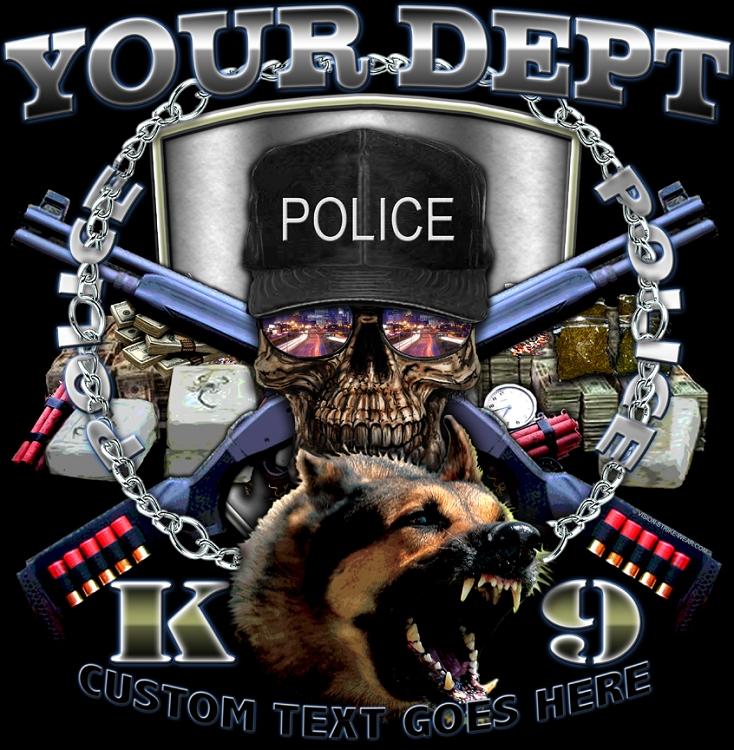 Police K 9 Law Enforcement Shirt 734x750