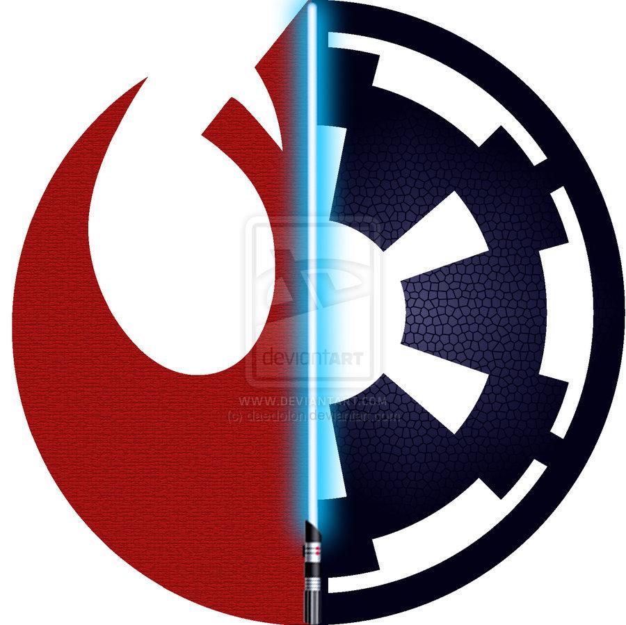 Star wars logos by daedolon