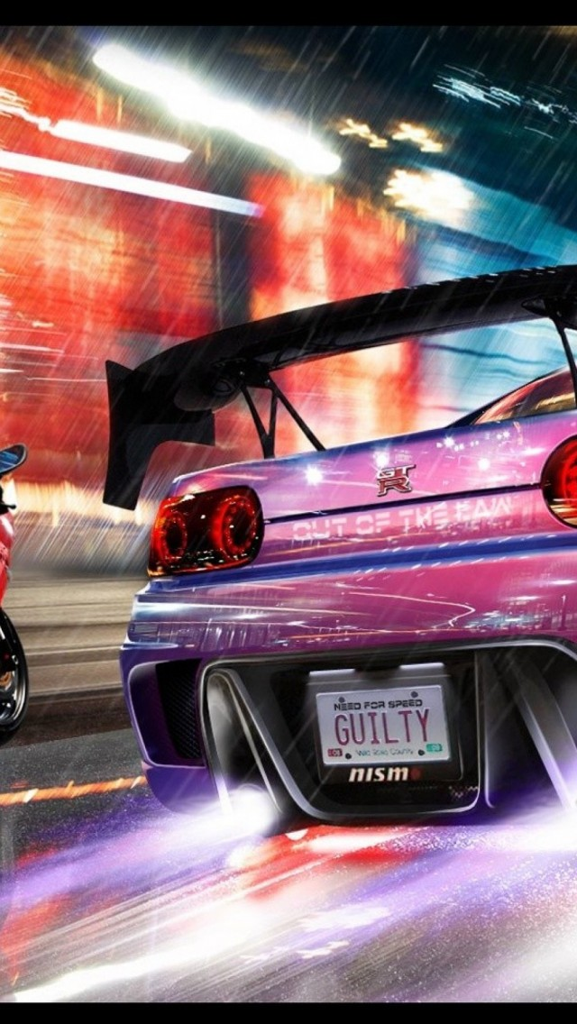 Need For Speed NOS iPhone 5 Wallpaper HD   Download iPhoneWalls 640x1136