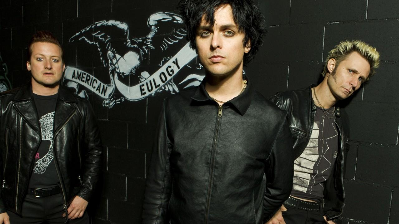 Wallpaper Green Day Top music artist and bands Billie 1280x720