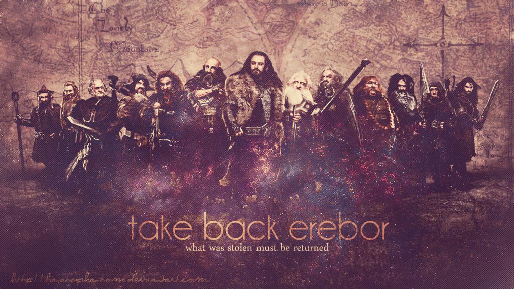 Erebor Wallpaper Take back erebor by 1024x576