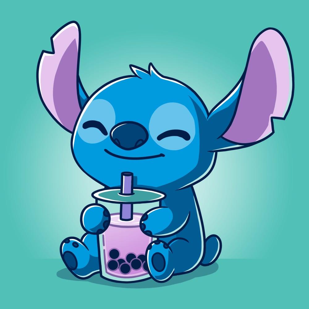 Boba Stitch Official Lilo Stitch Tee   TeeTurtle 1000x1000