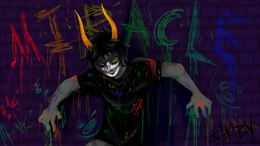 Homestuck Sober Gamzee Wallpaper Deviantart: more like gamzee's