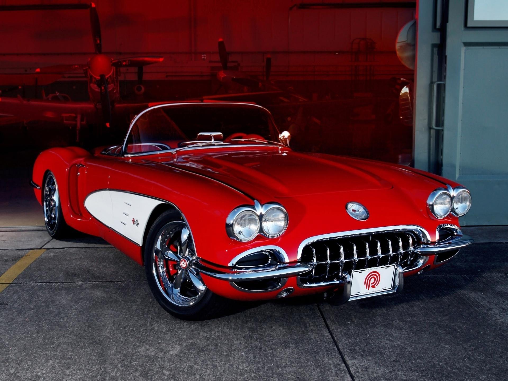 Classic Corvette Wallpaper Wallpapersafari