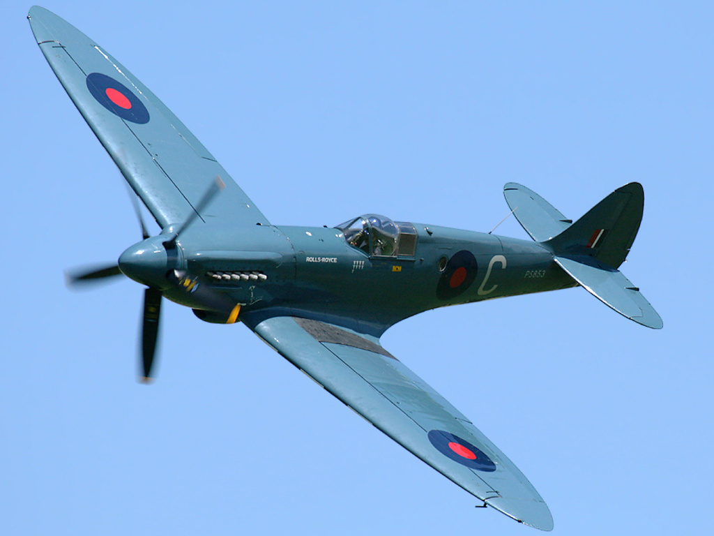 Supermarine Spitfire Wallpapers HD Wallpapers Early 1024x768