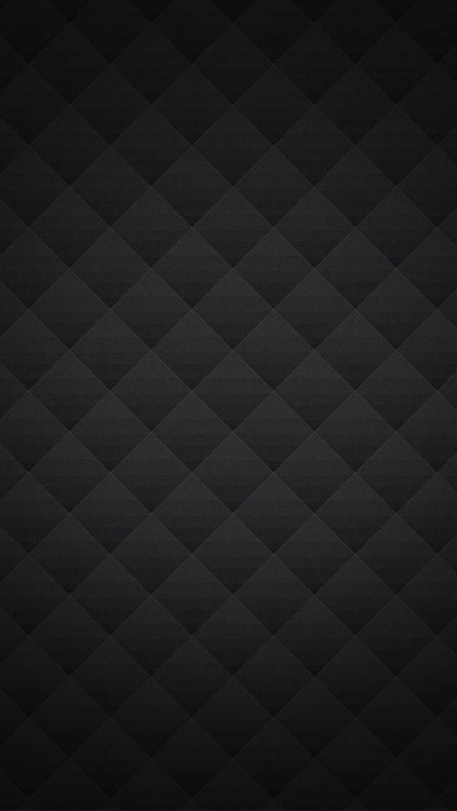 Black Diamond shapes   Best iPhone 5s wallpapers 640x1136