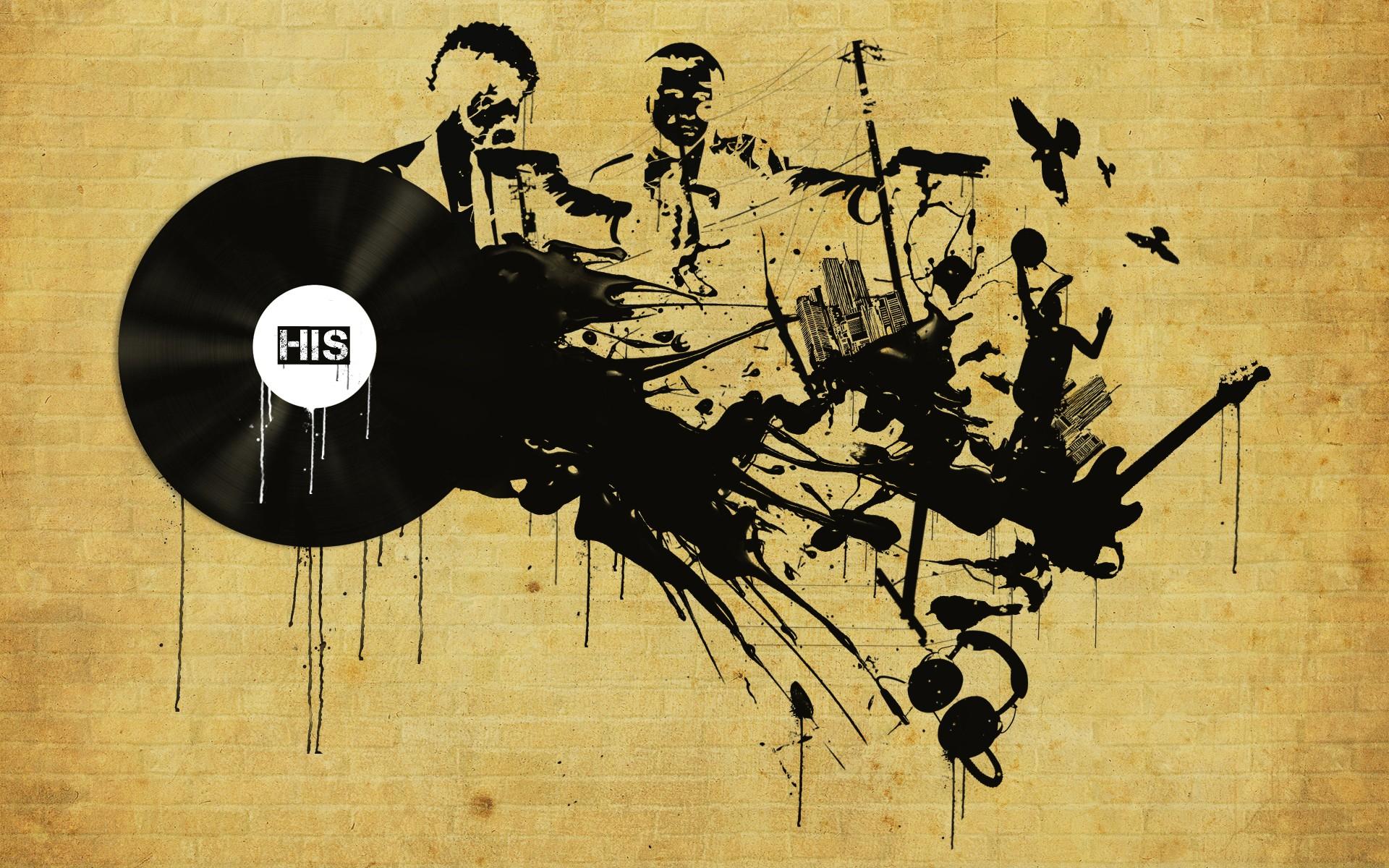 Graffiti art wallpaper - Wallpaper Graffiti Music Wallpapers Hd Wallpaper Background Desktop
