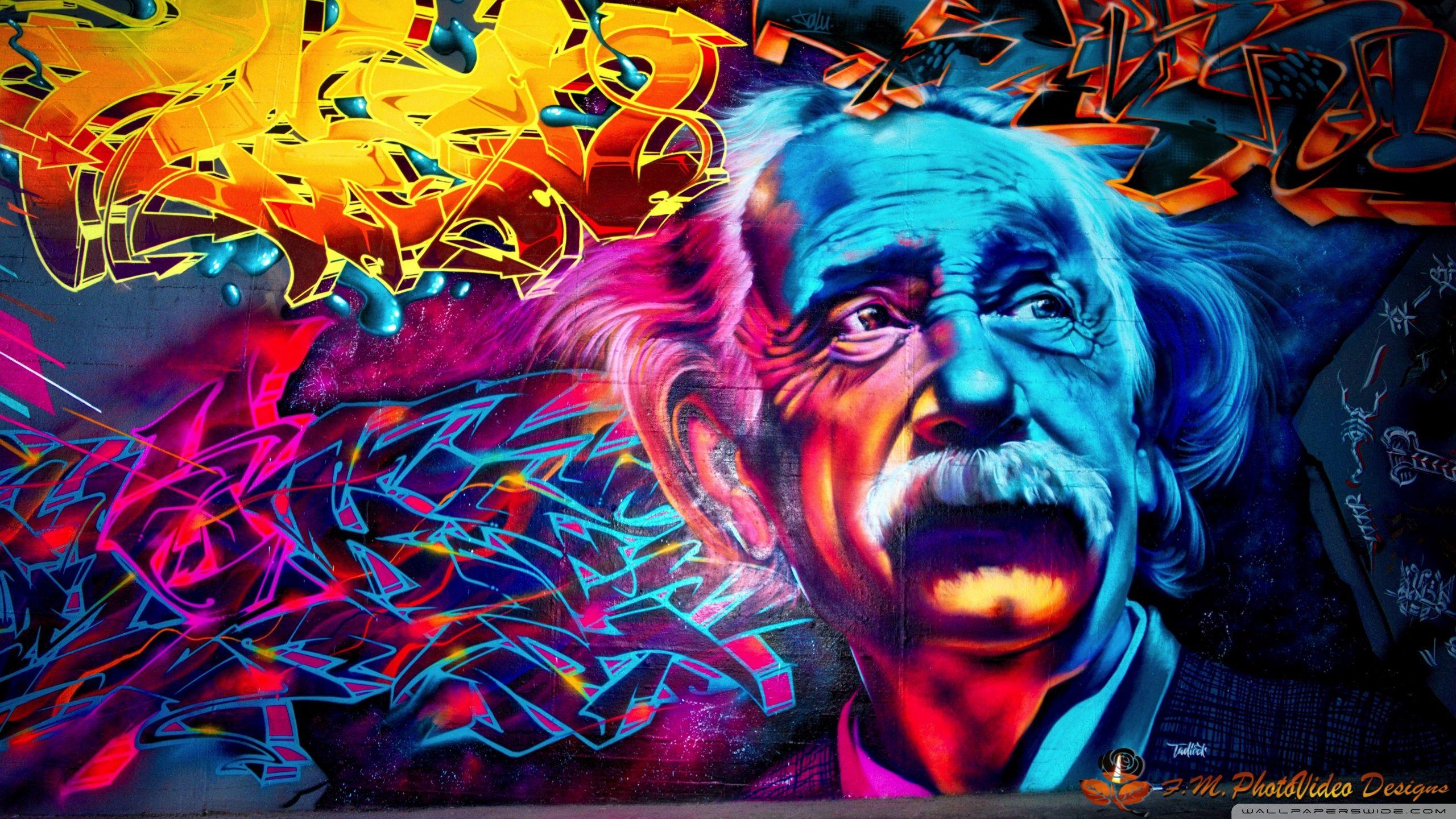 Street Art HD desktop wallpaper Widescreen High Definition 2560x1440